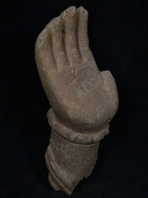 Ancient Stone Bodhasattva Hand Gandhara/Gandharan 100 AD #STN639 5