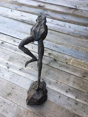 Bronze Leaping Frog Bronze Frog Fountain Sculpture Bronze Frog Water Feature