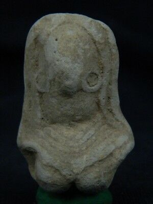 Ancient Teracotta Mother Goddess Bust Indus Valley 2000 BC #TR7985 2