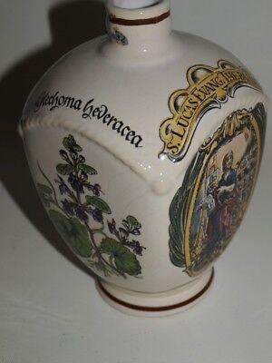 Alte Ulmer Keramik Flasche, Apothekerflasche Apothekergefäß Krug 2