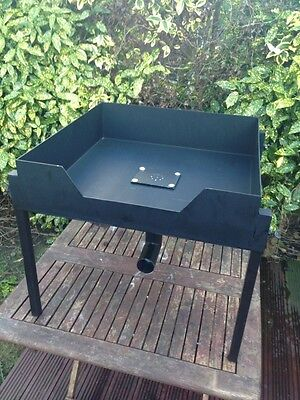 Portable Blacksmith Forge Farrier Forge For Solid Fuel Coke Charcole Bench Unit 2