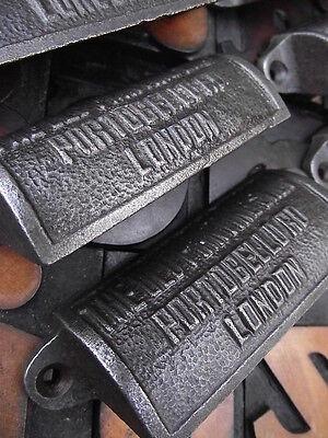 14 x Vintage Style Old Printing Shop Portobello Rd Cup Handles drawer pulls knob 2