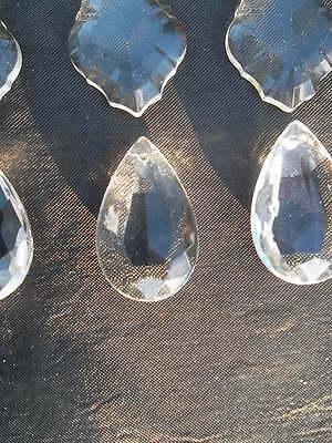 A mixture of 15 pretty glass   chandelier drops(D8492) 6