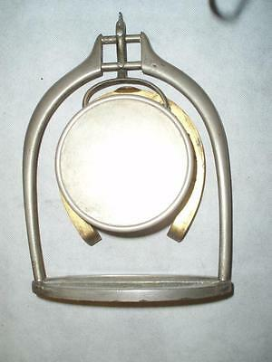 Antique Trophy Stirrup Clock. by H.GRAVES NEW St BIRMINGHAM. 5