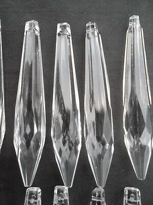 10 lovely glass icicle chandelier drops(D277) 7