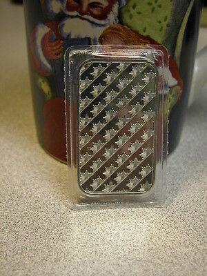 1 Troy Oz .999 Fine Solid Silver Bar - Sunshine Mint - Unc - Silver Eagle Logo 2