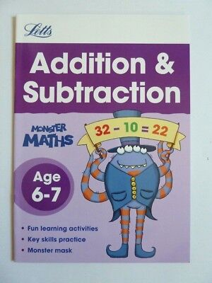 Maths Add Subtract Telling Time Bundle of 3 Home Learning Workbooks Ages 6-7 2