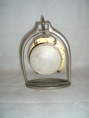 Antique Trophy Stirrup Clock. by H.GRAVES NEW St BIRMINGHAM. 3