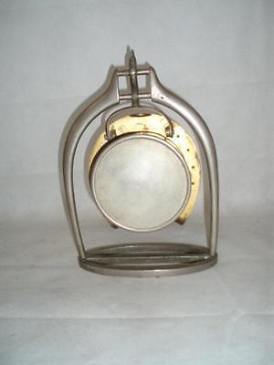 Antique Trophy Stirrup Clock. by H.GRAVES NEW St BIRMINGHAM. 3