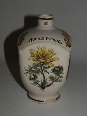 Alte Ulmer Keramik Flasche, Apothekerflasche Apothekergefäß Krug