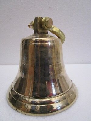 Brass BELL - Brass Made - 2 Kilo - Great Sounding -Boat / Nautical / Maritime 2