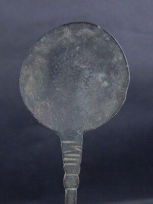 Ancient Bronze Spoon Islamic 1300 AD #GL1610 2