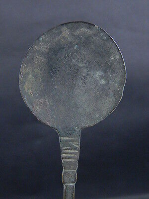 Ancient Bronze Spoon Islamic 1300 AD No Reserve  #GL1610