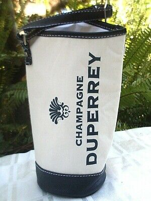 Quality DUPERREY CHAMPAGNE Insulated Wine Carry Bag w/ Adjust Strap ADVERTISING 8
