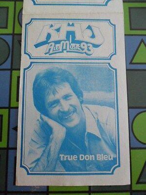 93/KHJ SEPTEMBER 19 1978 Boss SURVEY #685 GREASE CD & REAL DON STEELE MAGNET 7