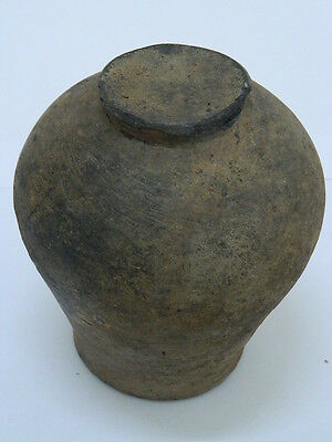 Ancient Large Size Grayware Pot Gandharan/Gandhara 100 AD    #PT15194 8