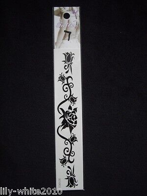 Temporary tattoos, Black, Colour tattoos, tribal, butterflys,flowers, REDUCED