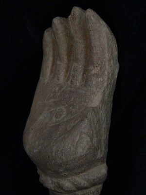 Ancient Stone Bodhasattva Hand Gandhara/Gandharan 100 AD    #STN639 9