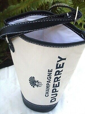 Quality DUPERREY CHAMPAGNE Insulated Wine Carry Bag w/ Adjust Strap ADVERTISING 3