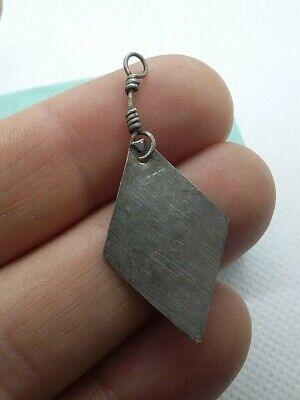Rare! Perfect Ancient  Silver Ornament Decoration Viking AGE c.9-11 AD #454 2