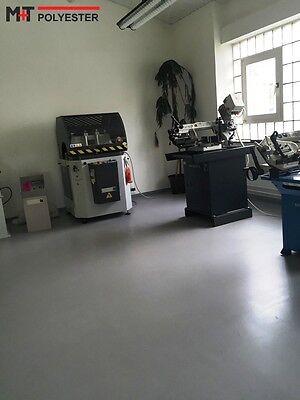 10 KG LICHTGRAU 2K-EPOXIDHARZ Bodenbeschichtung Garage Beton Boden ...
