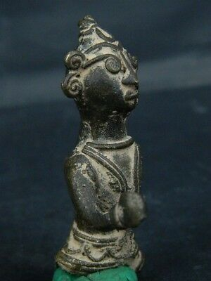 Antique Brass Figure Hindu 1800 AD No Reserve #BR6427 4