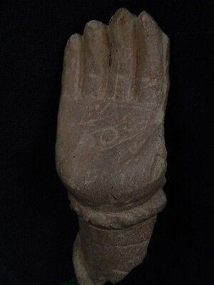 Ancient Stone Bodhasattva Hand Gandhara/Gandharan 100 AD    #STN639 2