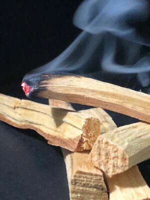 10 Palo Santo Wood & 3 White Sage Smudge Torch: Cleansing Negativity Removal new 3