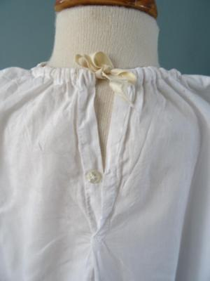 Antique Petticoat Victorian Young Girls White Cotton Embroidered Lace 10