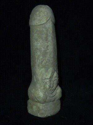 Ancient White Stone Linga/Lingum Hindu Shahi 700 AD #CCH15 3