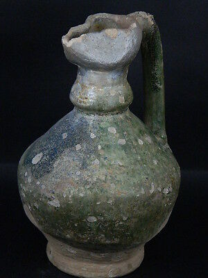 Ancient Large size Glazed Ewer Islamic 1200 AD No Reserve    #PT15167 5