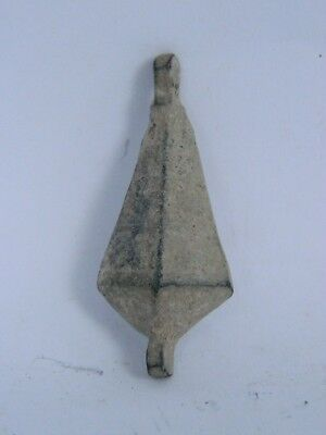Ancient Bronze Pendant Islamic 1200 AD #iK309 2
