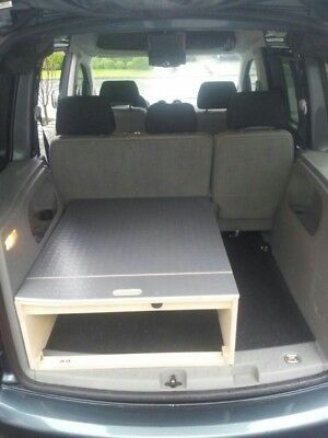 vw caddy camping bett tischfunktion 1 person eur 499 00. Black Bedroom Furniture Sets. Home Design Ideas