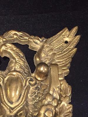 Vintage Solid Brass American Eagle Door Knocker 3
