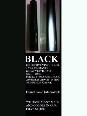 Black  Reflective Vinyl Adhesive Cutter Sign  Plotter Hight Reflectivity 3