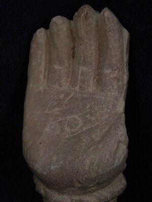 Ancient Stone Bodhasattva Hand Gandhara/Gandharan 100 AD    #STN639 3