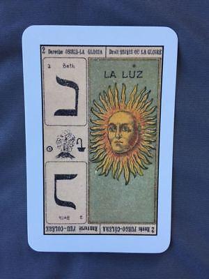 TAROT CATALÁN Primer TAROT ESPAÑOL 78 naipes 2