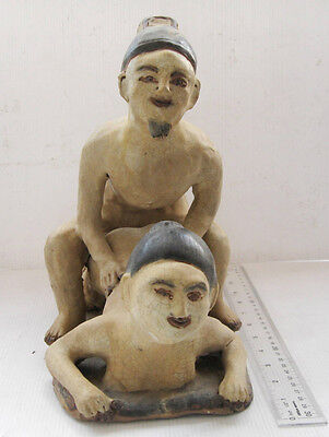 Antique Kalong Ceramic Statue