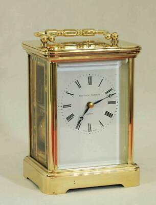 Swiss Matthew Norman 1751A Striking Repeater Grande Corniche Carriage Clock 3