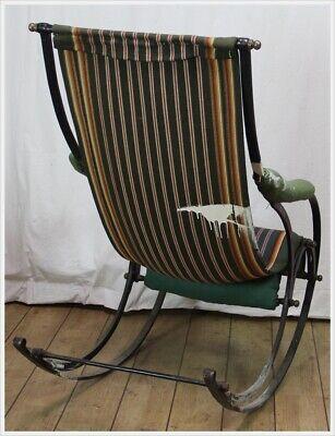 Schaukelstuhl R.W. Winfield & Co. Rocking Chair Peter Cooper Birmingham 1850 4