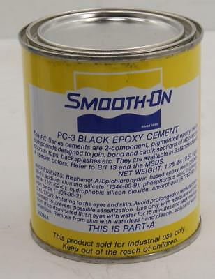 A Case Of 6 Pints Kits Smooth-On PC-3 Black Epoxy Two Component Adhesive 4