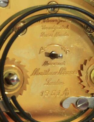 Swiss Matthew Norman 1751A Striking Repeater Grande Corniche Carriage Clock 8