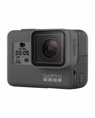 Used GoPro HERO 5 Black Waterproof Action 4K Ultra HD Camera Touch Screen Case 3