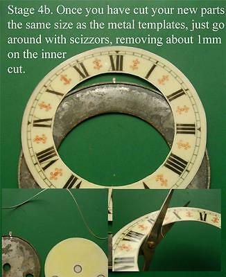 Buyers Ref:A3  Replacement laminate White  Small springer Clock Dial option 27 5