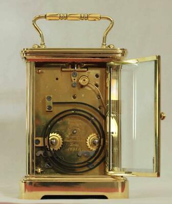 Swiss Matthew Norman 1751A Striking Repeater Grande Corniche Carriage Clock 6