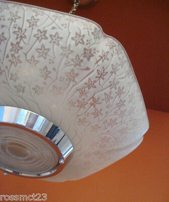 Vintage Lighting four matching Mid Century Modern chandeliers 3