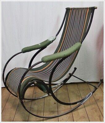 Schaukelstuhl R.W. Winfield & Co. Rocking Chair Peter Cooper Birmingham 1850 5