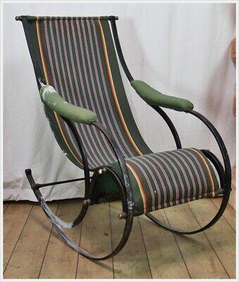 Schaukelstuhl R.W. Winfield & Co. Rocking Chair Peter Cooper Birmingham 1850 2
