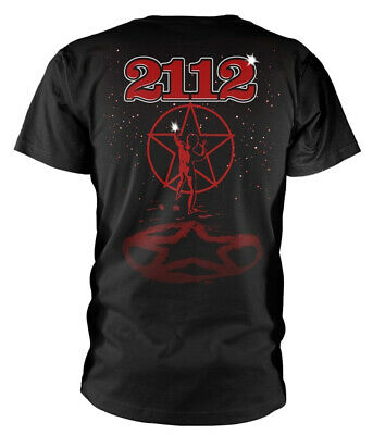 Rush '2112' (Black) T-Shirt - NEW & OFFICIAL! 2