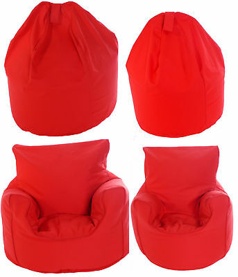 Adult or Children Size Bean Bag / Chair With Beans 9